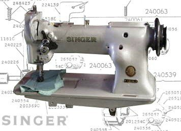 Singer 111W Compound Feed