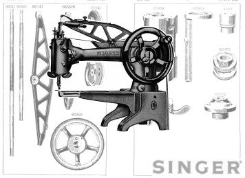 Singer 29K Cobblers Machine