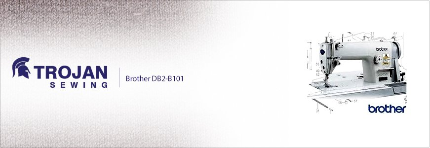 Brother DB2-B101 Plain Sewer