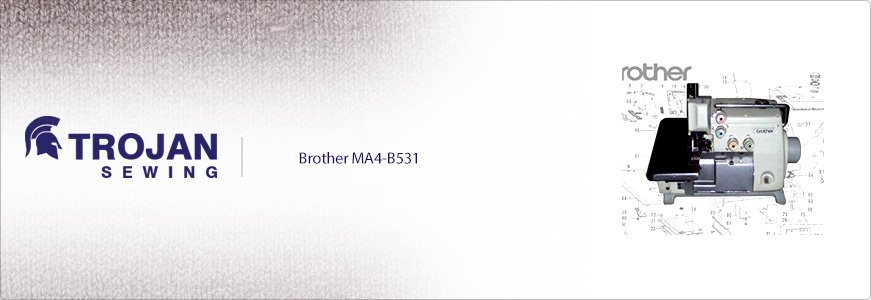 Brother MA4-B531 4 Thread Overlock