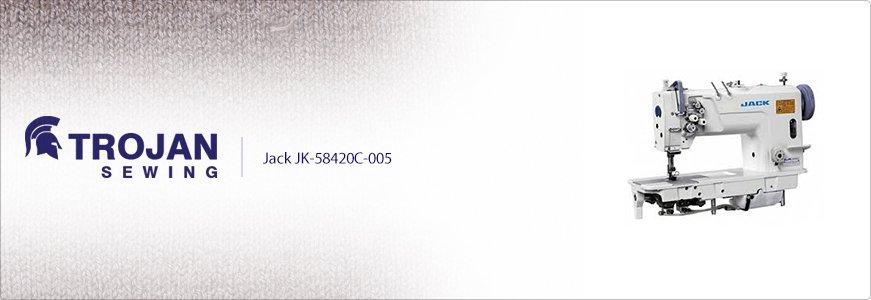 Jack Twin Needle JK-58720C-005