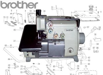 Brother MA4-B511 3 Thread Overlock
