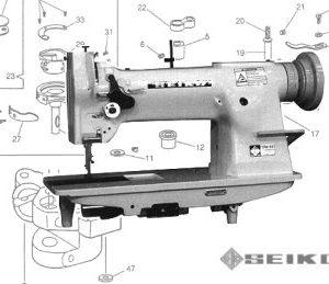 Seiko STW-8B Compound Feed