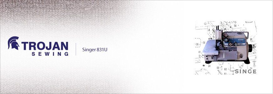 Singer 831U Three Thread Overlock