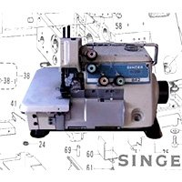 Singer 831U Three Thread Overlock