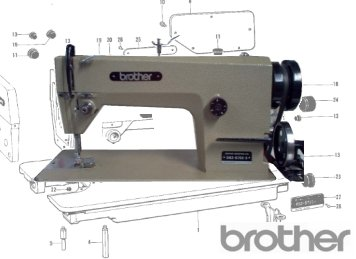 Brother DB2-B755mk3 - Plain Sewer