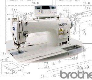 Brother S-7200A Automatic Plain Sewer