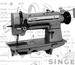 Singer 211U/G Compound Feed