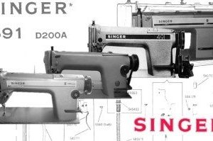 Singer 191D Plain Sewer