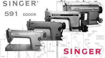 Singer 191D Plain Sewer