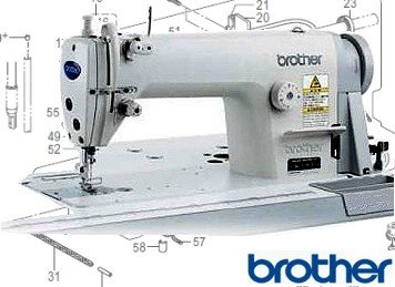 Brother Industrial Sewing Machine Parts | Trojan Sewing