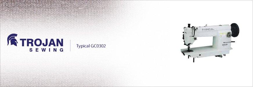Typical GC0302 Walking Foot