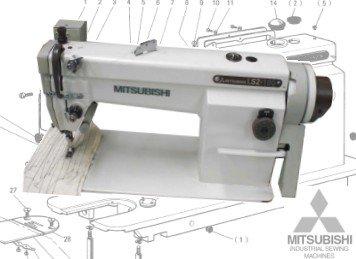 Mitsubishi LS2-180 Plain Sewer