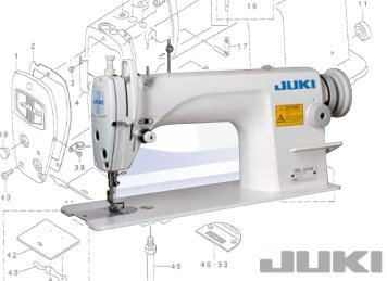Juki Plain Sewer DDL 8700