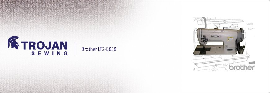 Brother LT2-B838 Twin Needle Compound Feed