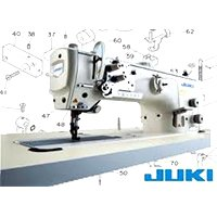 Juki Compound Feed Industrial sewing Machine LU-2810