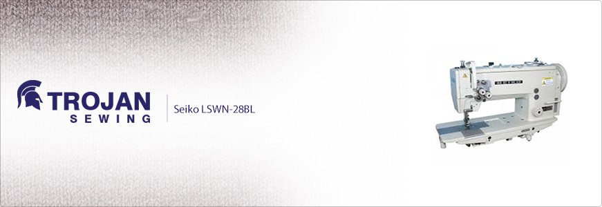 Seiko Twin Needle Compound Feed LSWN-28BL