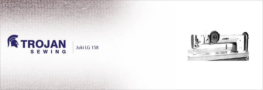 Juki Twin Needle Extra Heavy Duty Long Arm LG-158
