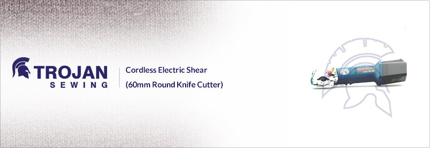 Cordless Electric Round Knife Cutter