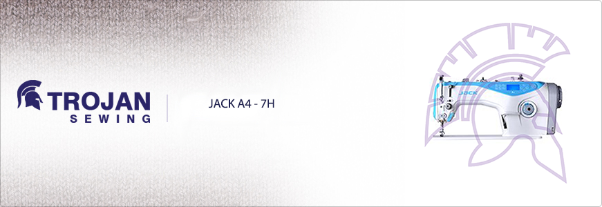 Jack A4-7H Fully Automatic Plain Sewer