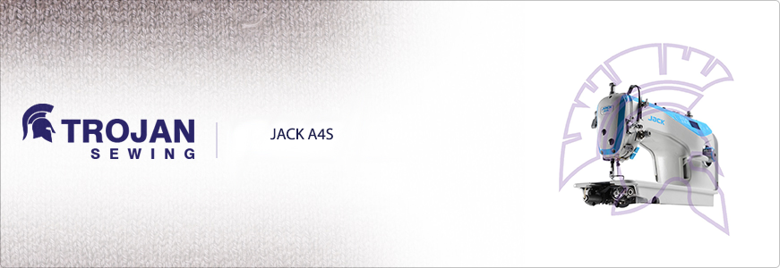 JACK A4S Fully Automatic Plain Sewer
