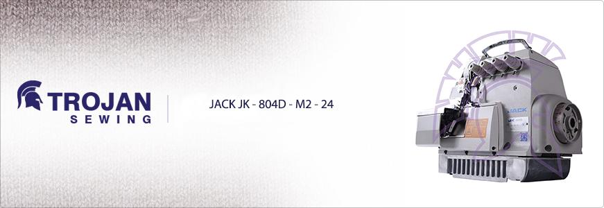 Jack Four Thread Overlock JK-804D-M2-24