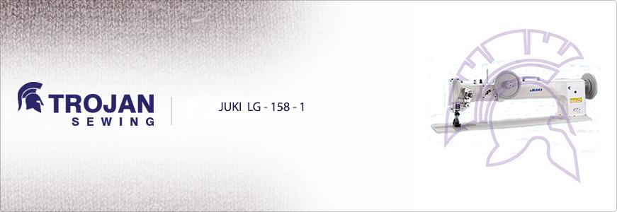 Juki Extra Heavy Duty Long Arm LG-158-1
