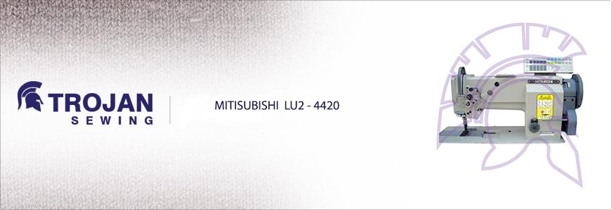 Mitsubishi LU2-4420 Twin Needle Walking Foot