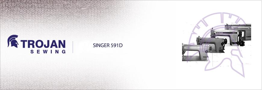 Singer 591D Plain Sewer