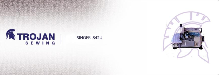 Singer 842U Five Thread Overlock