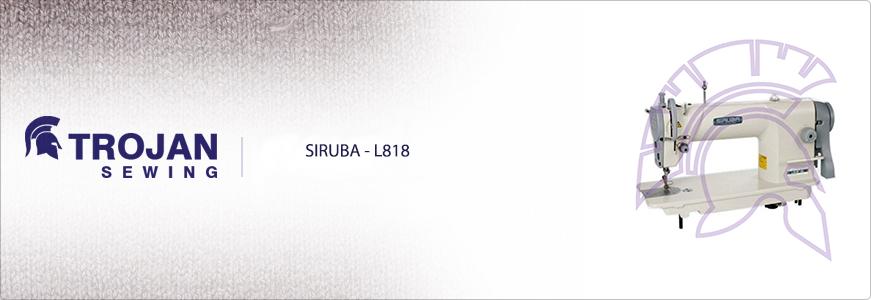 Siruba L818 Plain Sewer