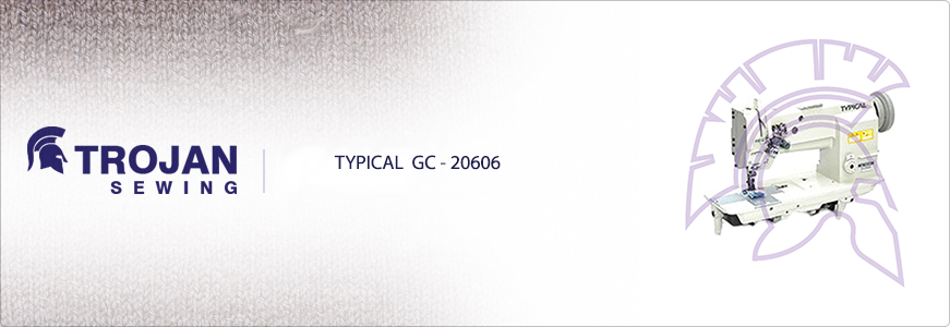 Typical GC20606 Twin Needle Compound Feed