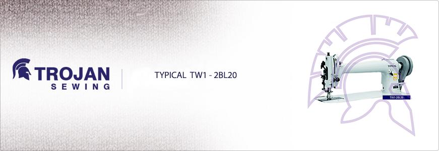 Typical TW1-2BL20 Heavy Duty Long Arm Walking Foot