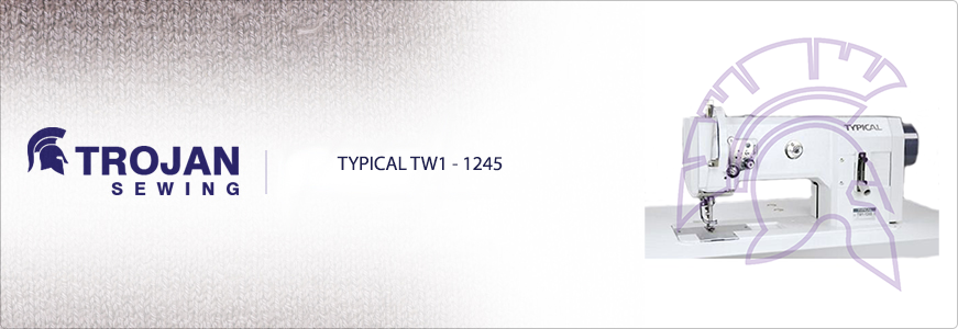 Typical TW-28BL-20 Twin Needle Extra Heavy Duty Long Arm