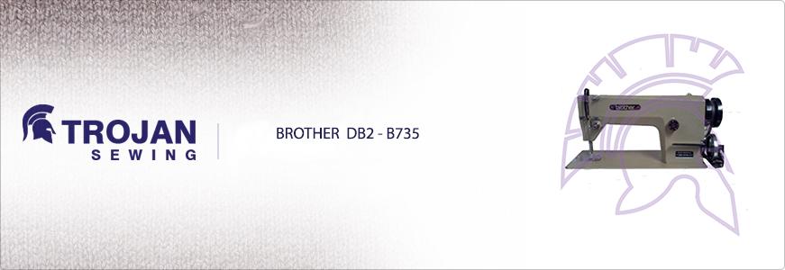 Brother DB2-B735 Plain Sewer