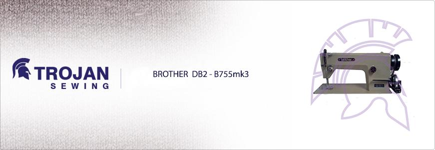 Brother DB2-B755mk3 - Plain Sewer