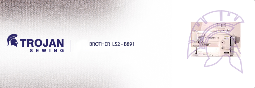 Brother LS2-B891 Heavy Duty Compound Feed