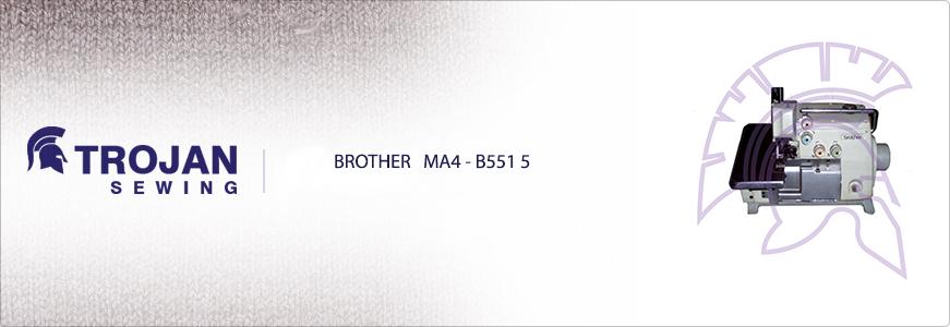 Brother MA4-B551 5 Thread Overlock