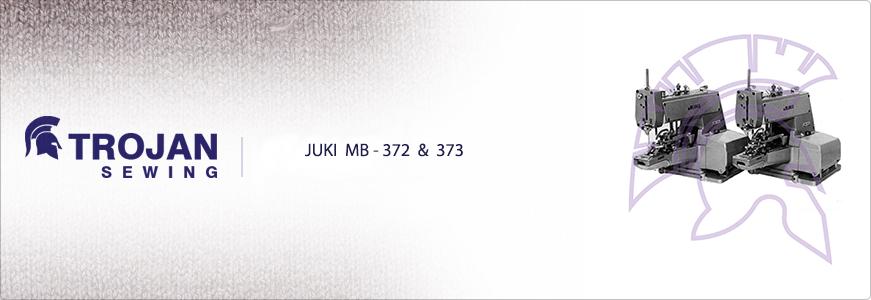 Juki Button Sewer MB-372 & 373