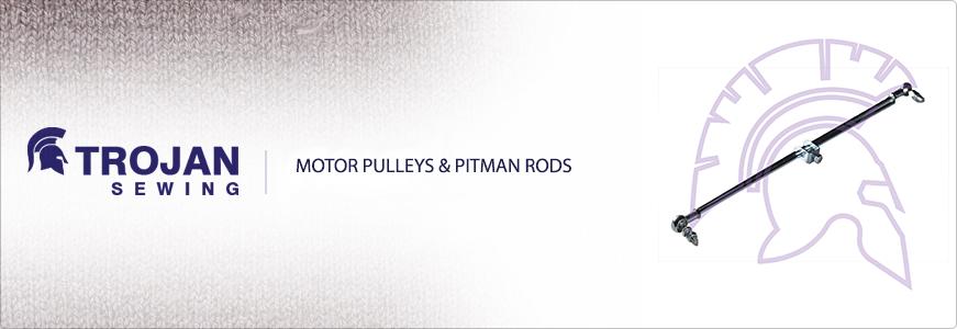 Motor Pulleys & Pitman Rods