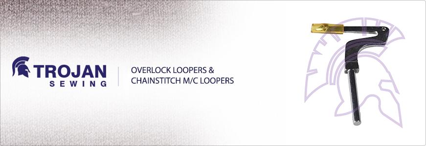 Overlock Loopers & Chainstitch M/C loopers