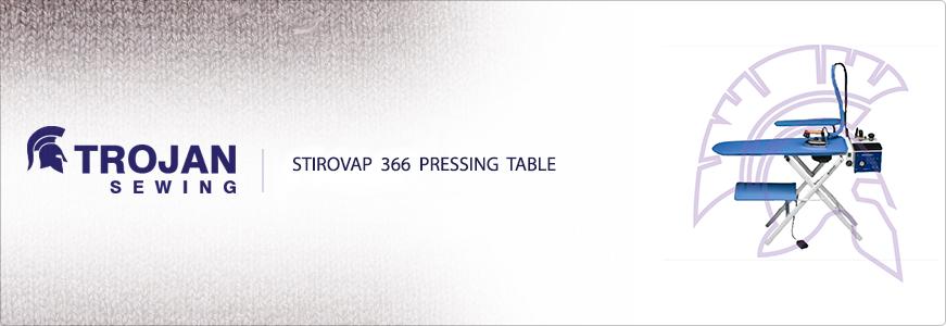 Stirovap 366 Pressing Table