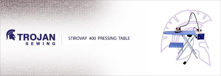 400 Stirovap pressing Table
