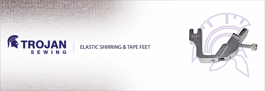 Elastic Shirring & Tape Feet