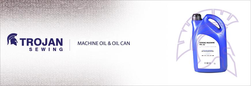 Machine Oil & Oil Can