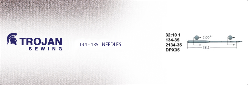 Industrial Sewing Machine Needles 135x5
