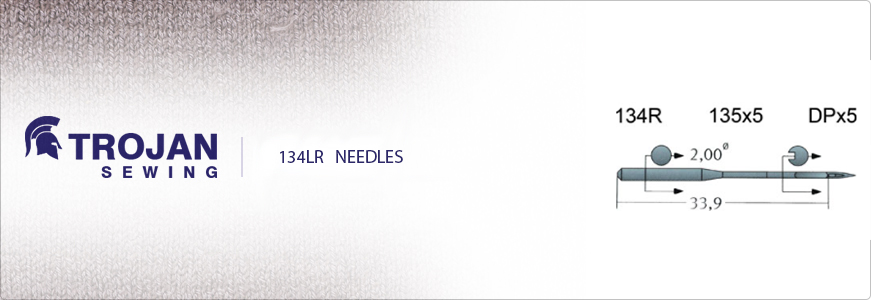 Industrial Sewing Machine Needles Leather Point 134LR