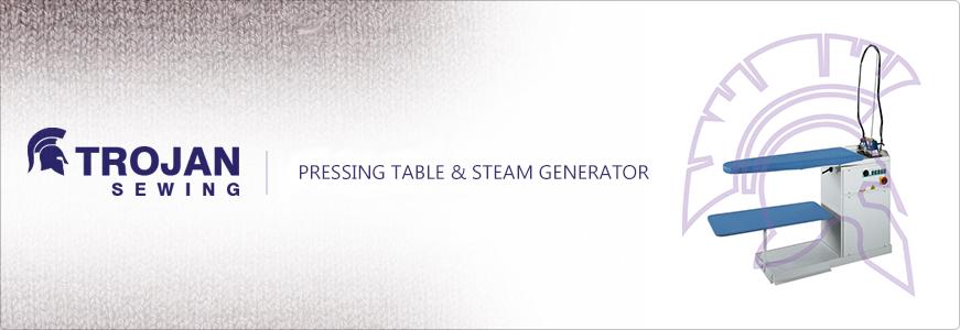 Pressing Table & Steam Generator